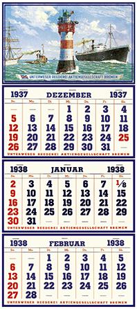 Die Erfindung des 3-Monatskalenders