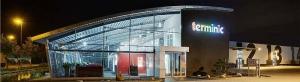 Das Verwaltungs- und Produktionsgebäude des Kalenderherstellers terminic
