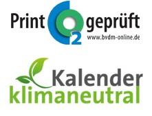 Kalender klimaneutral Logo