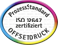 Terminic - Offset Druck Zertifikat