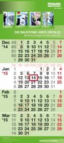 4-Monatskalender dispo quadro