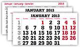 Kalendarien in über 30 Fremdsprachen
