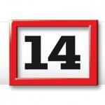 Tagesmarkierung 4-Monatskalender planer quadro