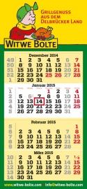 4-Monatskalender planer quadro
