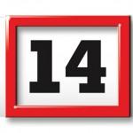 Tagesmarkierung 6-Monatskalender super 1 magnum