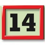Tagesmarkierung 4-Monatskalender super 1 quadro