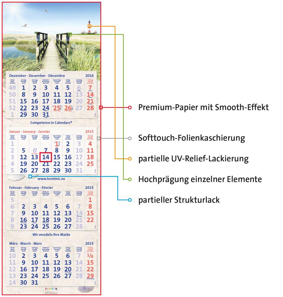 terminic Kalenderveredeleung