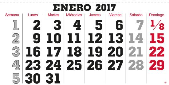 terminic Mehrmonatskalender Super Spanien ohne Feiertage Januar 2015