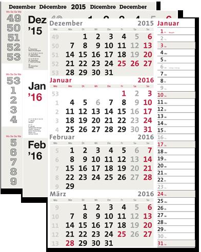 Kalendarien dispo
