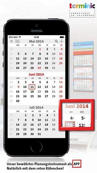 3-Monatskalender-App 2014