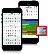 3-Monatskalender-App terminic
