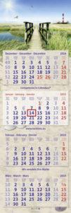Der veredelte 4-Monatskalender der terminic Sonderedition 2015