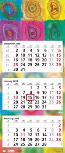 terminic 3-Monatskalender 2014
