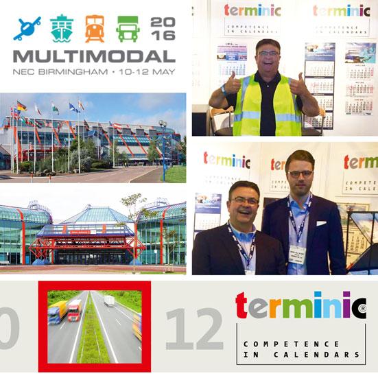 terminic auf der Messe multimodal-2016