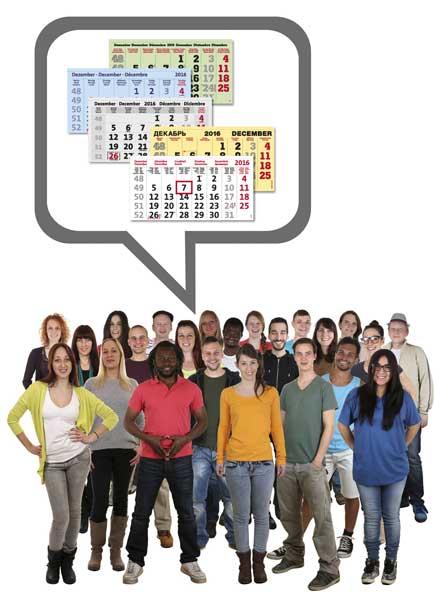terminic kalendarien sprachenvielfalt