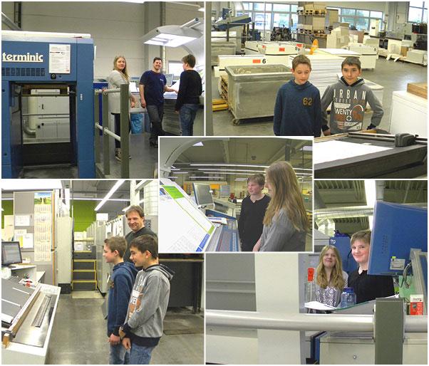 Zukunftstag 2015 bei terminic GmbH