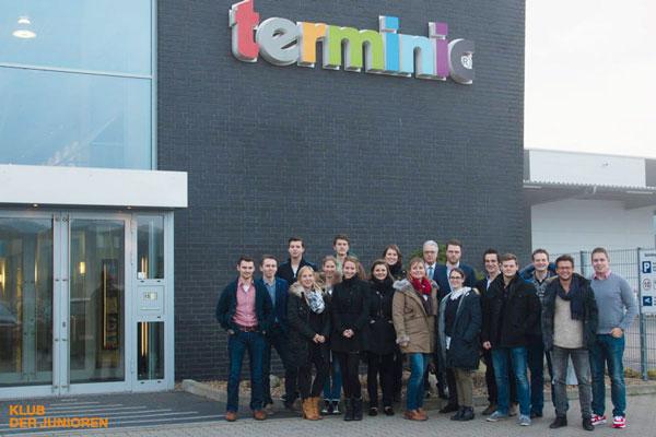 Kalenderhersteller terminic empfängt Klub der Junioren