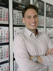 Sven Vorburg verstärkt seit September 2016 als Betriebsleiter das Team des Kalenderherstellers terminic