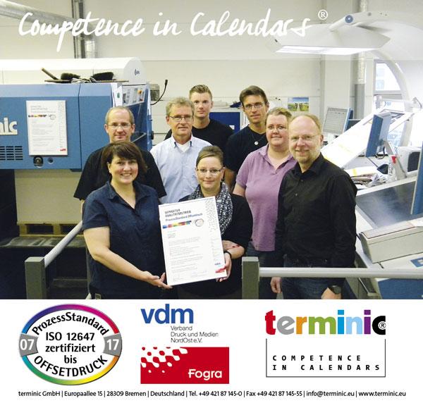 PSO Zertifizierung terminic