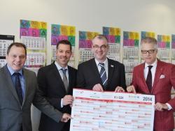terminic spendet Plakatkalender an den BVBC