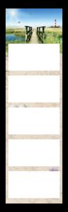 5-Monatskalender super 1 cinco Beispielbild