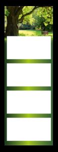 4-Monatskalender super 1 Quadro Beispielbild