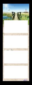 4-Monatskalender super 2 Quadro Beispielbild