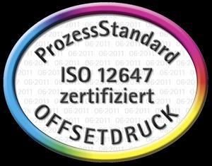 Zertifizierter Druck der terminic Werbekalender nach PSO