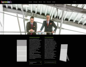 Kalenderhersteller terminic Website Relaunch