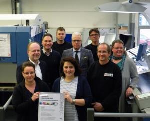 Kalenderhersteller terminic erfolgreich PSO zertifiziert