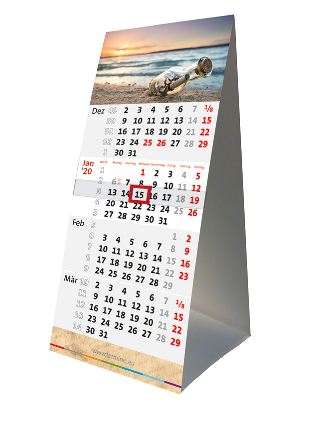 Die Tischkalender – Familie bekommt Zuwachs